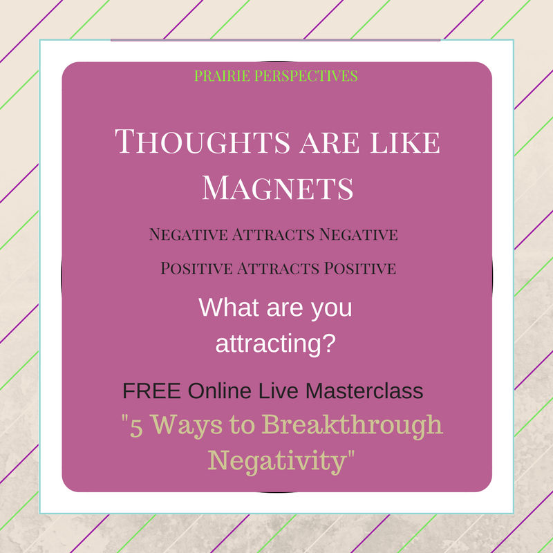 thoughts are like magnets